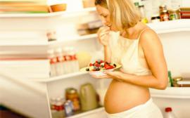Proper nutrition for pregnant women