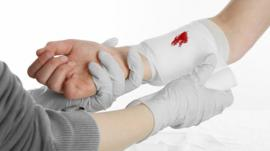 General medical activities conducted at all kinds of bleeding