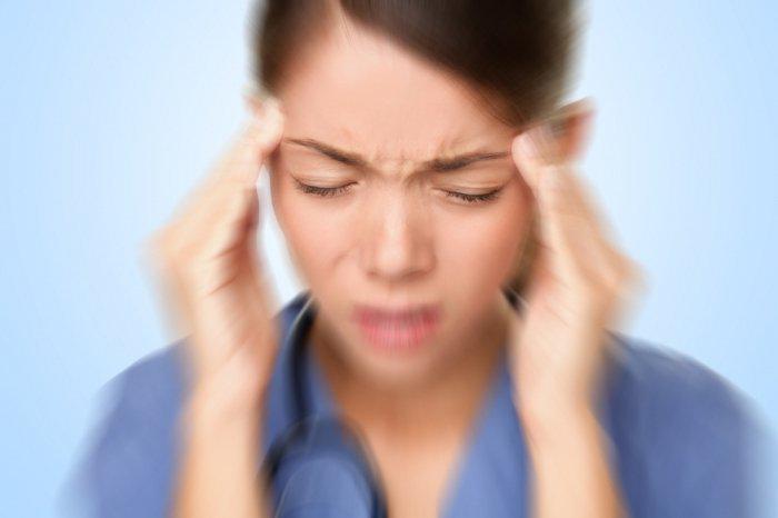 Infections of the inner ear. Dizziness (vertigo)